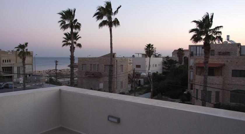 מרפסת מלון סי פלאזה חיפה